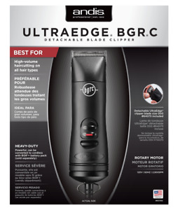 Andis 63700 UltraEdge BGRC Detachable Blade Clipper Black NEW