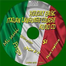 HOLIDAY Basics LINGUA ITALIANA lezioni facili da usare ad ascoltare e imparare CD AUDIO NUOVO