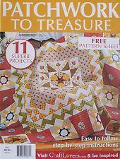 Patchwork To Treasure Magazine No1 2013 Issue 20% Bulk Magazine Discount