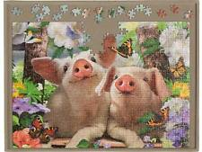 Jigsaw Puzzle Board 500 Piece Storage Portable Strong Lightweight Tray Mat New