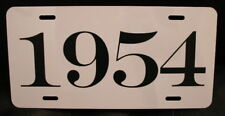 1954 License Plate Fits Chevy Ford Mercury Buick Dodge Desoto Packard Studebaker