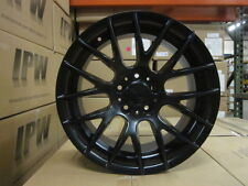 "18"" BLACK M3 CSL STYLE RIMS STAGGERED FIT BMW 3 SERIES 323 325 328 330 335 MTECH"