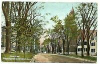 Post Card Portland Maine View Of State Street c.1907 Color