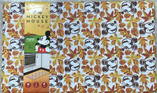 Disney Mickey Mouse Anti-Fatigue Kitchen Mat Fall Leaves Thanksgiving18 x 30 New