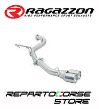 RAGAZZON SCARICO TERM.TONDI 2x70mm ALFA GTV 916 SPIDER 2.0 V6 TURBO 148kW 201CV