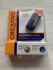 Creative NOMAD MuVo 128 MB MP3 Player USB 2.0 Flash Drive NIB