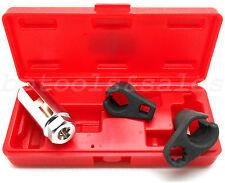 3 Pc Oxygen Sensor Socket Wrench O2 Tool Remover/Installer 6-Point Socket Set