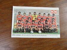 Photo-poster FOOTBALL vintage : NIMES OLYMPIQUE saison 1976-1977