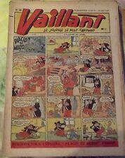 VAILLANT N°107 1947 Placid & Muzo le Diable Bottin de la région infernal