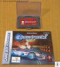 Downforce-para Nintendo Gameboy Advance con instrucciones-GBA