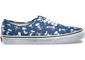 Vans Peanuts Authentic Blue UK8/US9 - Deadstock