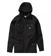 Billabong Mens Matt Field Parka Jacket Black Large