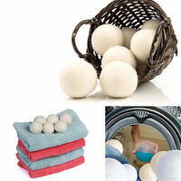 Reusable Laundry Clean Ball Practical Home Wool Dryer Balls Laundry Softener-TB