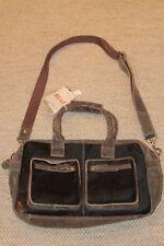 BEAR DESIGN Damen Rinds LEDER Schultertasche 36x21x14cm Handtasche Tasche NEU