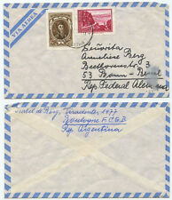 34074 - Argentinien - Beleg - Boulogne 21.10.1971 nach Bonn-Beuel