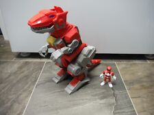 Imaginext Power Rangers T-Rex Zord + Red Figure Fisher Price