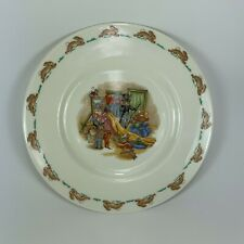"Bunnykins Royal Doulton Dressing Up, 8"" Plate English Fine Bone China"