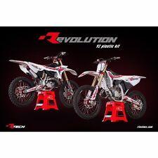 Rtech Revolution 02-16 Yamaha YZ 125 250 Update Restyle Plastic Kit Tank BLUE