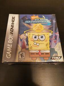 SpongeBob's Atlantis SquarePantis - FACTORY SEALED - Squarepants - GBA Gameboy