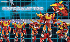MMC Reformatted R-27 CALIDUS aka Transformers IDW Hot Rod MIB US Retailer