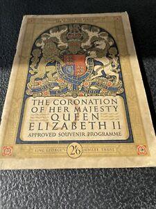 Coronation Of Queen Elizabeth II - Approved Souvenir Programme (1953)