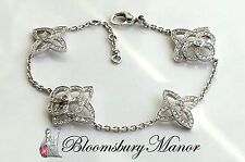 "Less than 7"" White Gold 18 Carat Fine Diamond Bracelets"