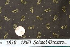 """1800's """"SCHOOL DRESSES"""" REPRODUCTION QUILT FABRIC BTY FOR MARCUS 7550-0113"""