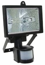 New 150W Halogen Light With Sensor Security Floodlight Outdoor Garden Pir Sensor