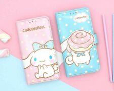 Samsung Galaxy S9+ Sanrio Cinnamoroll Wallet Smart Phone Case with Mirror Pink