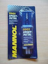 Mannol Metal Kleber Metallkleber 2K Alu, Messing, Eisen, Zinn, Blei, Kupfer 30g