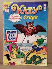 KATY LA ORUGA #65 MEXICAN COMIC 1986 BAT COVER