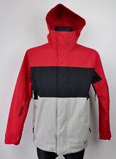 BURTON Men's XS Skiing Jacket Snowboard Hooded Coat Zip Up Waterproof Top