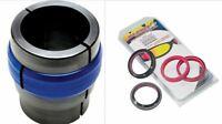 All Balls Fork Oil Seal/Dust Wiper Kit 56-141 + Motion Pro Ringer Driver 08-0492