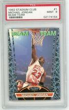 Michael Jordan 1992 Stadium Club Beam Team PSA 9