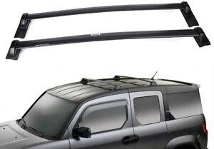2Pcs Fits for Honda Element 2003-2011 Aluminum Roof Rail Rack Cross Bar Crossbar