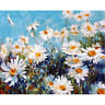 Wild Daisy DIY Paint by Numbers Kit Canvas Painting Frame Unframed 40x50cm