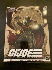 gi joe classified snake supreme cobra commander