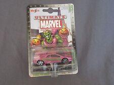 768F Maisto Série 1 30/25 Marvel Lamborghini Diablo Green Goblin 1:64