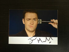 JASON MANFORD - TOP STAND UP COMEDIAN - EXCELLENT SIGNED PHOTOGRAPH