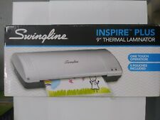 A New Swingline Inspire Plus 9 Thermal Laminator 1706900321 Silver