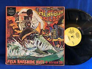 FELA KUTI ALAGBON CLOSE MAKOSSA ORIGINAL USA LP EXC+
