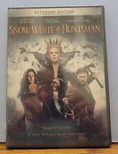 NEW Snow White & the Huntsman (DVD 2012) Extended Ed -Hemsworth, Theron, Stewart