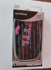 Nintendo Play On Carrying Case Holder For DSi DSLite zippered mesh pocket New
