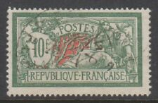 France - 1926, 10f Sage Green & Red stamp - F/U - SG 431