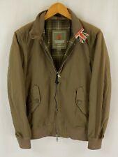 Baracuta G9 Garment Dyed Harrington Jacket 36 Green