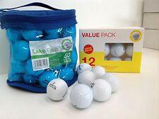 50 x MIXED VALUE GOLF BALLS A/B GRADE PLASTIC BAG WILSON NOODLE ULTRA TOPFLITE