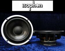 "2x Tieftöner ISOPHON PSL 225 ALU 4Ohm Bass 225mm Vintage 8,5"" Woofer Low-Speaker"