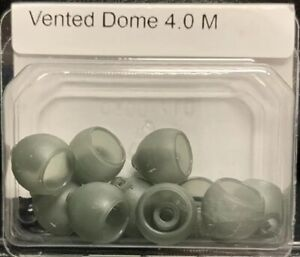 1 Box Of Medium Vented Domes 4.0 M For Phonak Marvel Hearing Aids 10 Domes Total