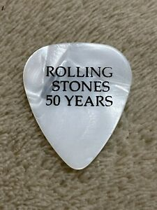 """Rolling Stones """"Mick Taylor"""" 2013 50 Years Guitar Pick-Rare"""