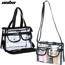 Clear Cross-Body Messenger Shoulder Bag NFL Stadium Transparent Purse Handbag US